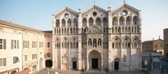 3 - Ferrara. Historisches Stadtzentrum und jüdische Stätten