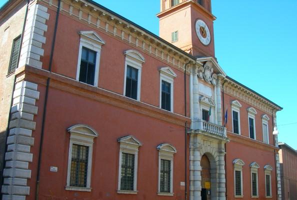 Palazzo Paradiso -  Ariostea Bibliothek