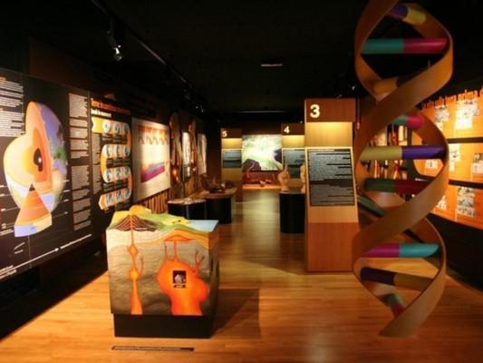 Das Museum dieses Territoriums