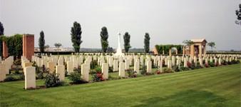The Argenta Gap War Cemetery