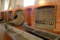 The imposing eel pickling factory at Comacchio has reopened its doors.