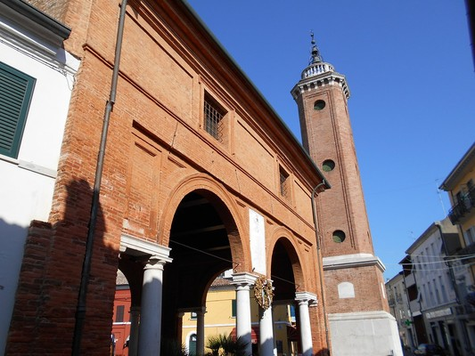 The Wheat Loggia and The Clock Tower and