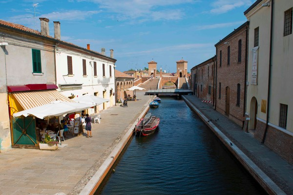 Route in Comacchio