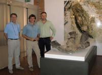 Alberto Angela, paleontólogo y científico en Comacchio