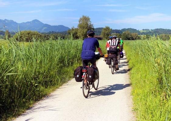Desde el Garda al Adriatico en bicicleta