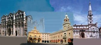 Recorrido estense: Ferrara - Cento - Modena