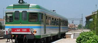 Viaje en tren desde Ferrara a Mantua