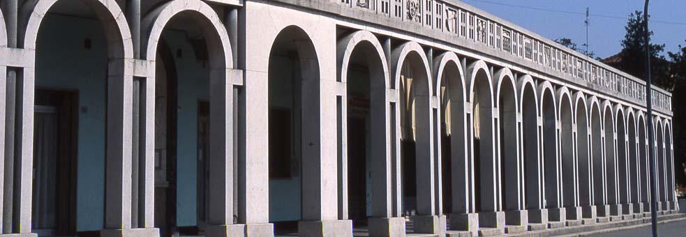 Pórtico de la Plaza