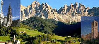 1. Les Alpes et la plaine. De Bolzano à Ferrare