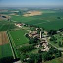 Vista aerea complesso abbaziale