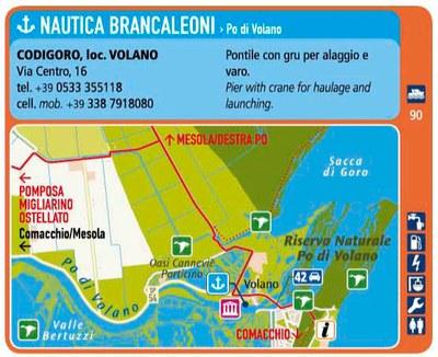 Nautica Brancaleoni - attracco