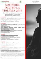 Novembre contro la violenza 2019