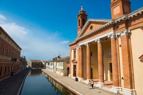 Comacchio - Stazione 2 - Parco del delta del Po