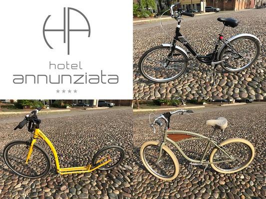 Noleggio bici - Hotel Annunziata