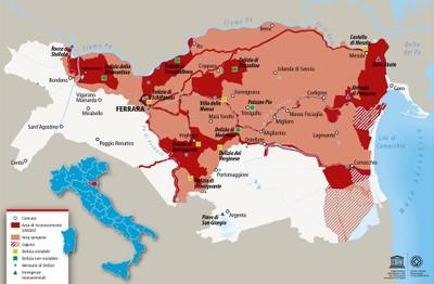 Mappa del Sito UNESCO