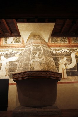 Gli interni di Casa Romei