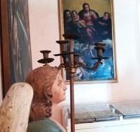 Nel museo, ricavato dalle pertinenze dell'antico palazzo vescovile, sono esposti oggetti di arte sacra provenienti dalla chiesa dei SS. Pietro e Giacomo.