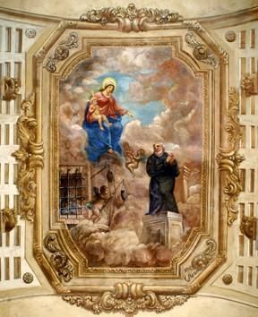Affreschi chiesa di San Leonardo - Masi Torello