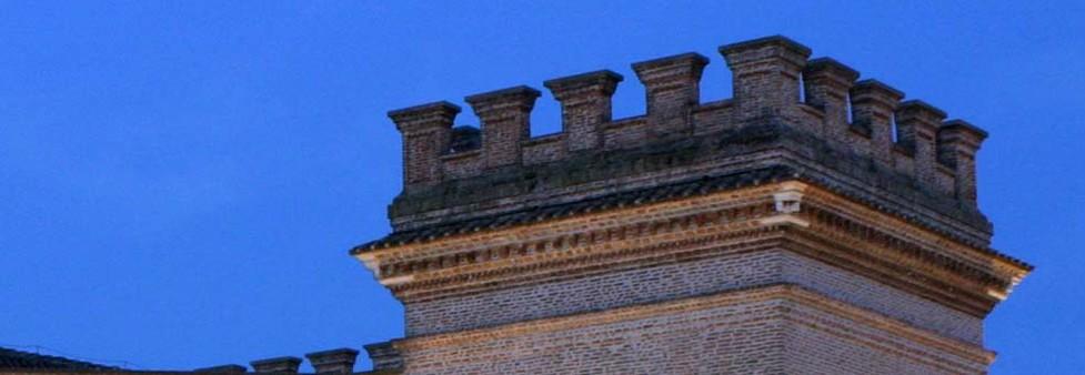Torri del castello Estense di Mesola